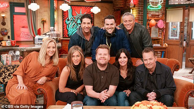 They'll be there for you: The Reunion of Friends was hosted by James Corden and is available to stream on HBO Max