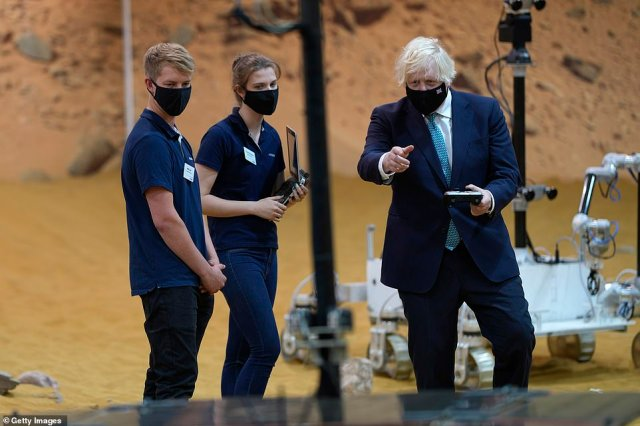 The Prime Minister (pictured during a visit to Stevenage earlier today) is thought to have U-turned over proposals - which experts warned could have sparked chaos for millions of British holidaymakers - after a revolt by cabinet ministers