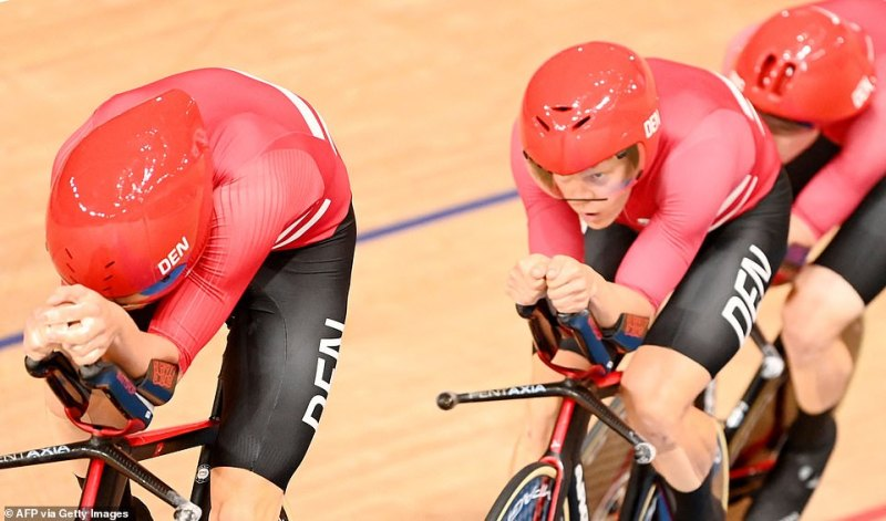 The Danish team were given a warning yet were not disqualified by cycling's governing body