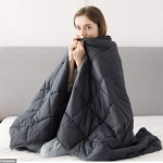 This Bedsure weighted blanket helps ease anxitey and encourages a deeper sleep💥👩💥💥👩💥