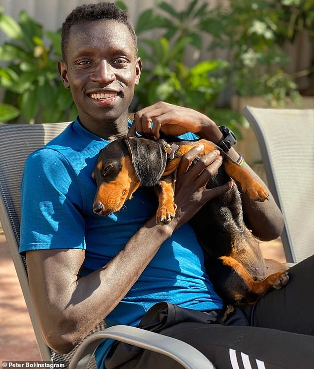 Peter Bol, 27, is the first Australian male to reach an 800m Olympic final in 53 years