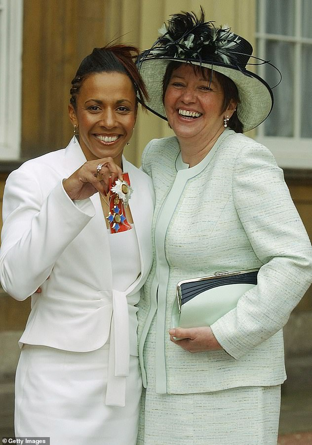 Her announcement comes after Dame Kelly revealed she self-harmed the day her mother died three years ago (Kelly and her mother Pam in 2005)