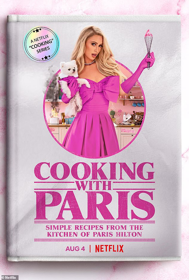 Now streaming!  But first, fans can stream the six-episode Hilton Cooking With Paris series, which premiered on Netflix on Wednesday.