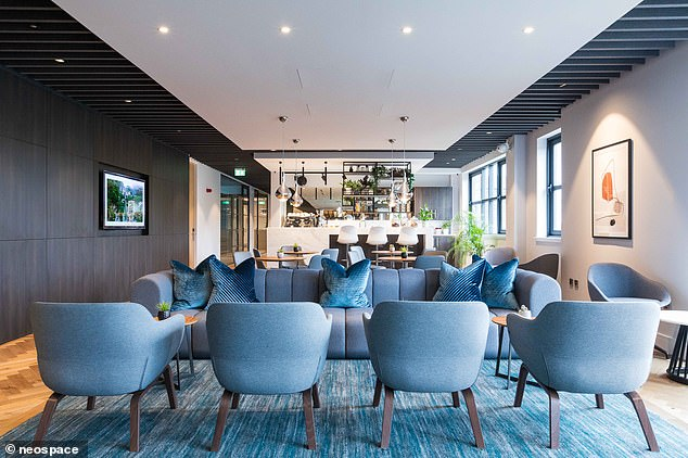 Appreciating many workers are frustrated with working from home, entrepreneur Baroness Michelle Mone recently opened a new £18million glamorous co-working space in Aberdeen designed for a post-Covid workforce