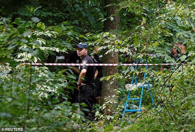 Police in Kiev said Shishov's body was found hanged in woods near his home, but that they have opened a murder probe on suspicion that the 'suicide' was staged by his killers