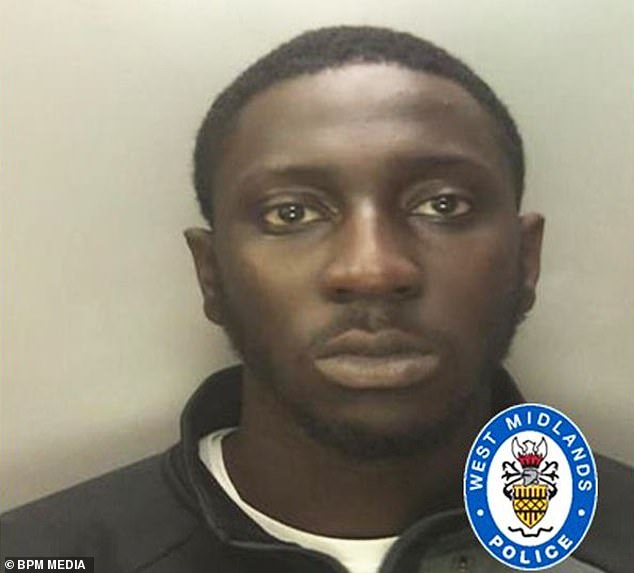 A magistrate's son Mahtarr Morgan, 20, (pictured) has been jailed over a 'brutal' knife and baseball bat revenge attack on a man in a shop in a row over balloons