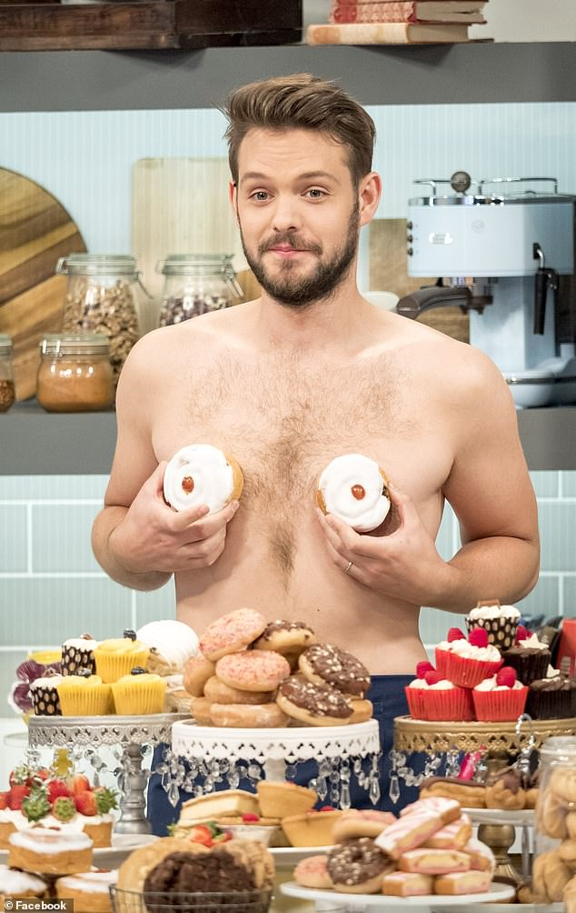 Back then: John won the third series of The Great British Bake Off, in 2012, at the age of 23 (pictured in 2016)
