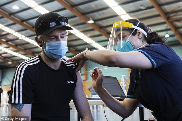 Australia has fully vaccinated just 16 per cent of its population, one of the lowest rates in the world, leaving the country especially vulnerable to more-infectious variants