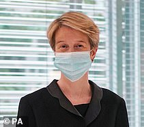 New NHS boss Amanda Pritchard (pictured)