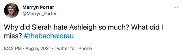 Haters will hate: Some fans said they couldn't understand why Sierah hated Ashleigh so much, with one confused viewer asking: