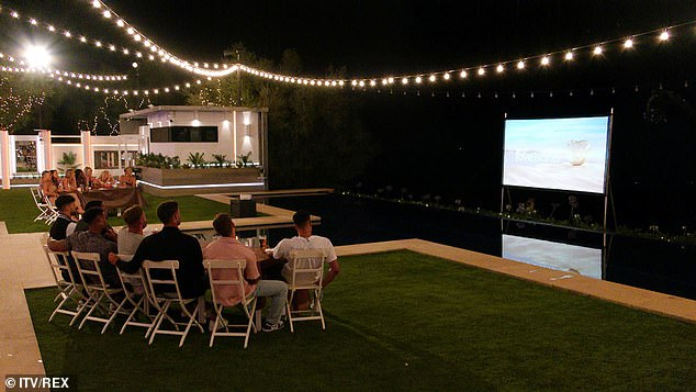 Snap: Love Island fans screamed across screens in frustration at the boys' antics unbeknownst to the girls and they could be relieved Thursday night, as the Islanders embark on a 'Movie Night' challenge, where clips hidden will be broadcast at the villa