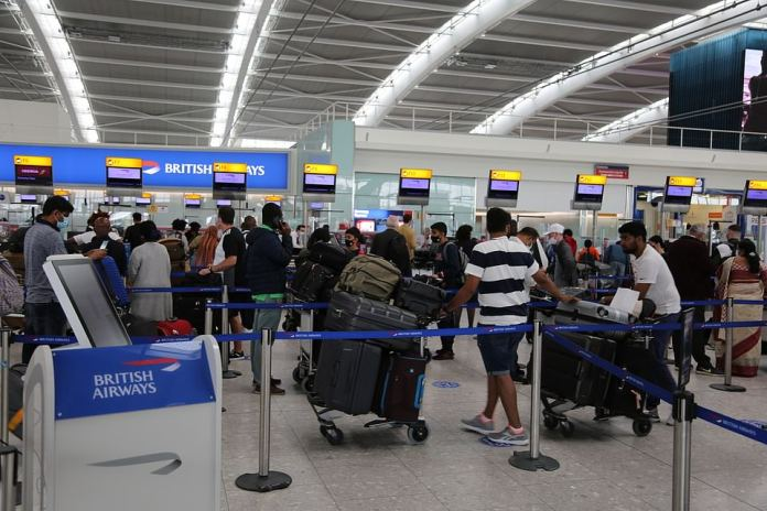 Passengers arriving from Mexico City at London's Heathrow Terminal 5 today slammed the new rules, which come into effect on Sunday