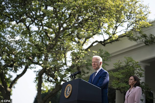 'Truth defeated lies. We did overcome,' said Biden as he praised the officers