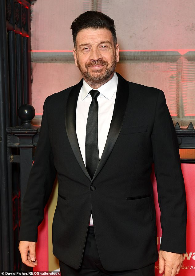 New romance?Nick Knowles is reportedly dating a mother-of-two who is 27 years his junior, after revealing in February 2020 (pictured at the time) that he was single again