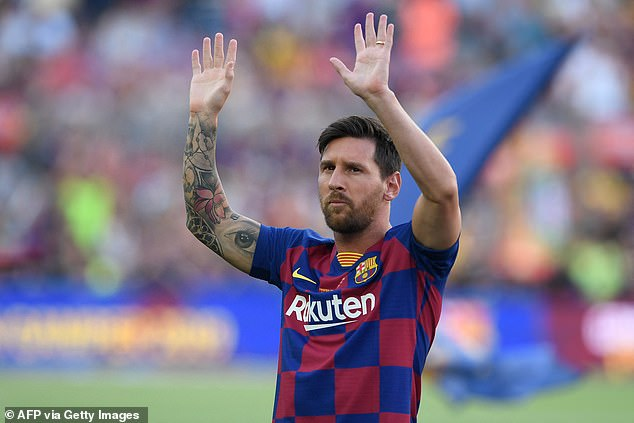 Barcelona have confirmed Lionel Messi will not be continuing with the club next season