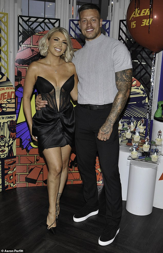 Raking it in:Olivia and Alex previously revealed they were worth £4.5million after their brief stint on Love Island in 2016