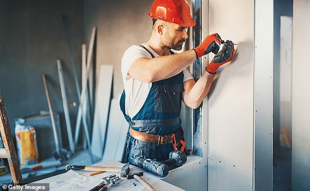 Fed up tradesmen have revealed the biggest gripes they have about their clients, ranging from asking 'stupid' questions to telling them how they should do their job (stock image)