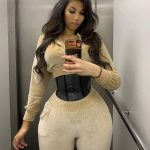Influencer with 27-inch waist reveals she used a waist trainer to aid her 💥👩💥