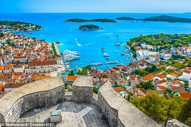 Once Croatia was added to the green list, UK holidaymakers planned their summers around trips to destinations like the island of Hvar, pictured