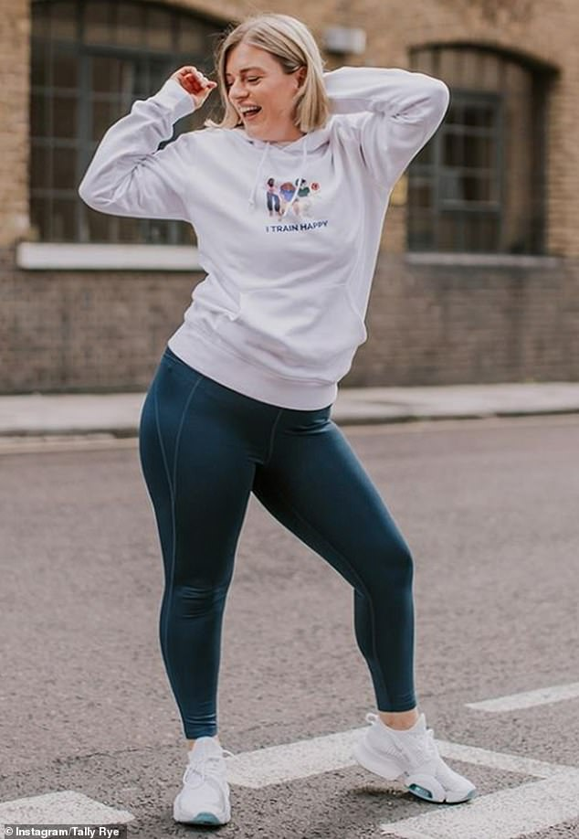 Tally Rye believes fitness has little to do with size and that we shouldn't be exercising to just change the way our bodies look