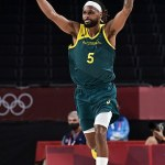 Patty Mills pours in 42 points to lead the Boomers to a first ever Olympic medal beating Slovenia 💥👩💥