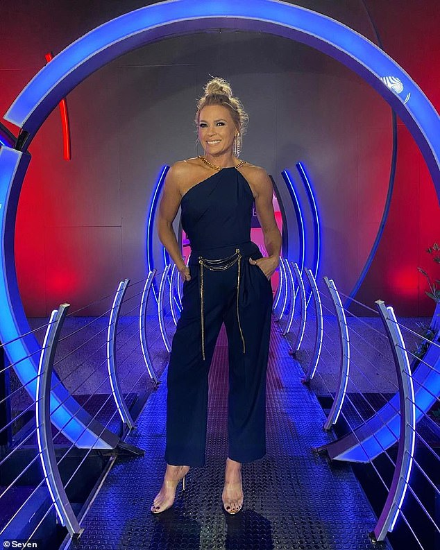Coming soon: Other stars set to appear on the upcoming reality series include Kyle Sandilands' ex-girlfriend Imogen Anthony, NRL star Matt Cooper, and actors Bernard Curry and Ellie Gonsalves. Pictured: Host Sonia Kruger
