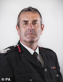 Merseyside Fire and Rescue Service of Chief Fire Officer Phil Garrigan