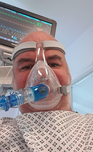 Removal firm boss Brian Lynch, 46, warned others to get the vaccine from his intensive care bed just before dying from Covid-19