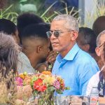 The party continues! Obama's 60th celebrations roll into third day with a birthday brunch with Oprah 💥👩💥