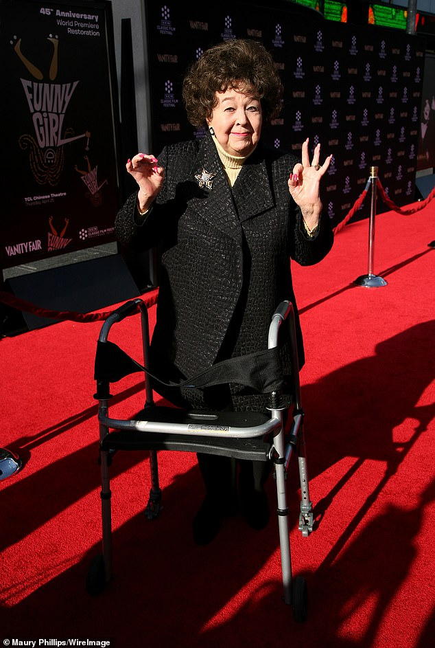 RIP: Former child star Jane Withers died, age 95, from undisclosed causes while surrounded by loved ones in Burbank on Saturday night (pictured in 2013)