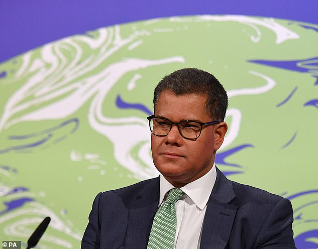 Alok Sharma, whom the Prime Minister appointed 'president' of the UN Climate Change Conference in Glasgow