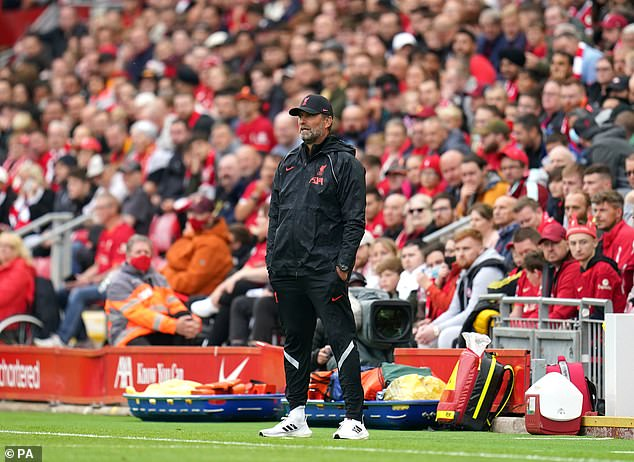 Jurgen Klopp has made just one reinforcement far but insists he is happy with his squad