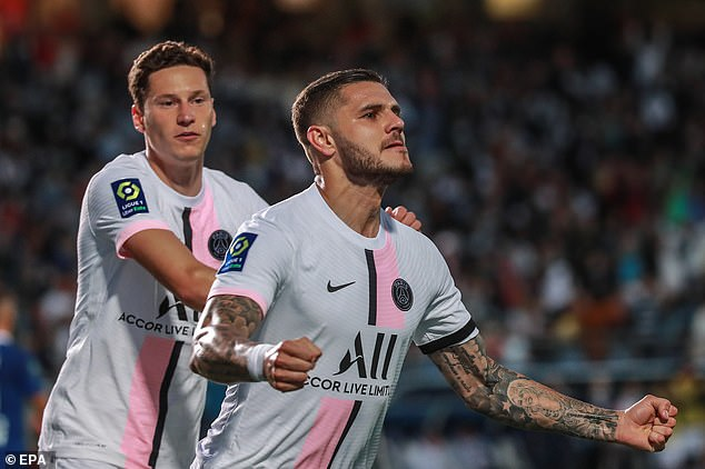 The likes of Julian Draxler (left) and Mauro Icardi (right) could be sold in a bid to raise funds