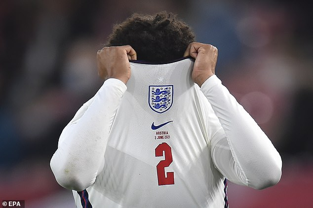 The Liverpool right back's thigh problem cruelly ended his hopes of appearing at Euro 2020