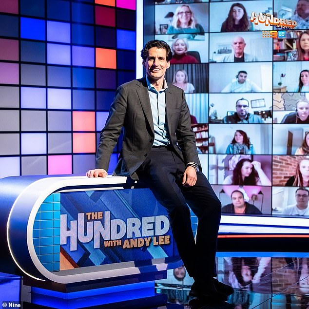 New show:Andy Lee (pictured) has revealed that his new show The Hundred wont shy away from hard issues. The comedian, 40, tells TV Tonight that lockdowns and anti-vaxxers will be on the menu