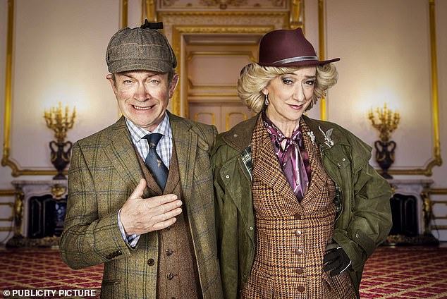 Comedy: While Harry is reprising his role as Charles, Camilla is portrayed byHaydn Gwynne on the series