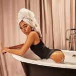 Leigh-Anne Pinnock shows off pre-pregnancy figure in bathtub snaps in her swimwear brand💥👩💥💥👩💥