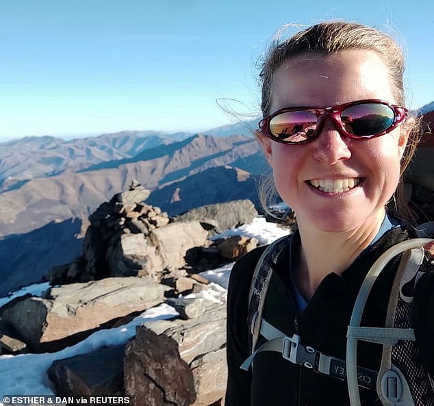 The 37-year-old Oxford graduate had numerous pieces of kit with her at the time of her disappearance, including a bright red and grey rucksack and a distinctive yellow tent which are yet to be found