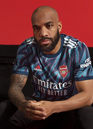 The Gunners will debut their new kit in their Premier League opener with Brentford on Friday