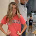 Dad and nanny's VERY flirty Dirty Dancing video earns horrified reactions on TikTok💥👩💥💥👩💥
