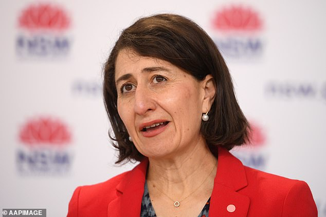 'No, no, are people not listening to what I'm saying?' a frustrated Ms Berejiklian said in response to the question about when Sydney might emerge from lockdown