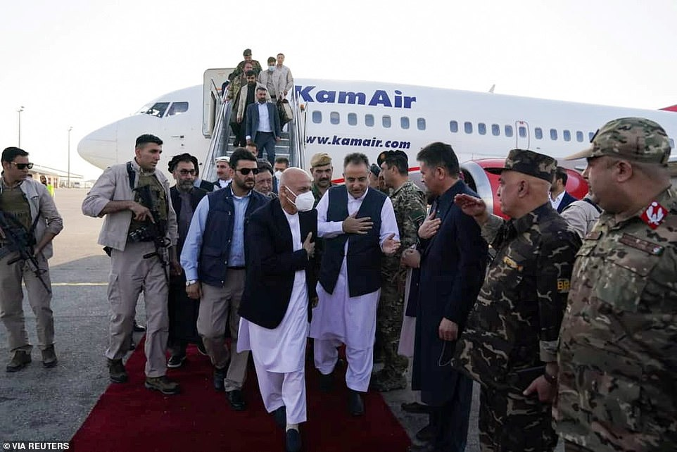 President Ashraf Ghani flew into the city of Maza-i-Sharif, the largest in Afghanistan's north, to help rally his troops ahead of what is expected to be a major assault on the city after opening skirmishes on the outskirts on Tuesday