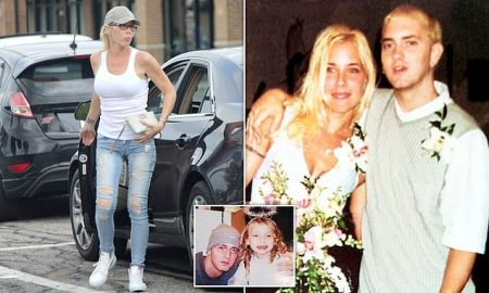 Eminem's ex-wife Kim Scott is 'hospitalised after attempting suicide'