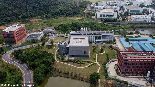 The institute in Wuhan has come under increasing pressure amid the pandemic after claims emerged that the virus may have been manufactured in China
