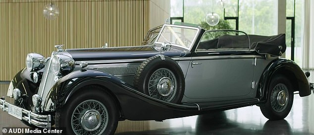 Audi says Skysphere is a 21st-century update to the Horch 853 (pictured), a two-door cabriolet designed by Voll & Ruhrbeck in 1937