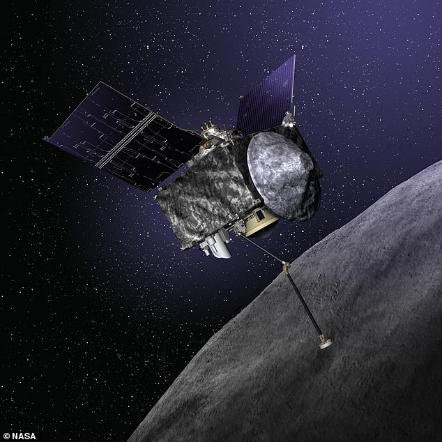 Along with rocks and dust, the craft captured precision data to better predict the near-Earth object's orbit around the Sun, which shows a 1-in-1,750 chance of a future collision over the next 300 years