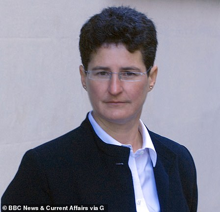 Mr Bloxsome is working alongside leading QC Clare Montgomery (pictured) - a extradition lawyer once used by Chilean dictator Augusto Pinochet