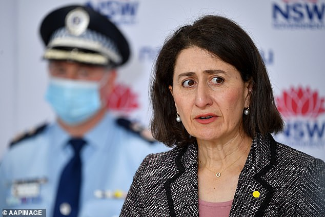 Premier Gladys Berejiklian said she was not planning to extend harsher restrictions across the whole city at Thursday's Covid update in NSW