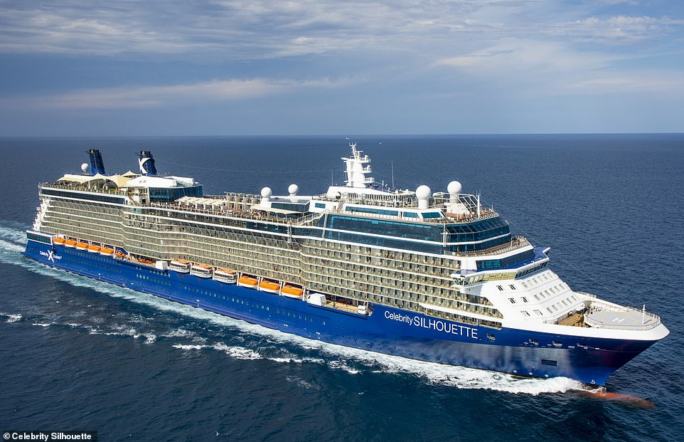 Launched in 2011, Caroline describes the Celebrity Silhouette as a 'destination itself'