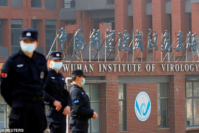 Dr Peter Embarek visisted the Wuhan Institute of Virology Lab (pictured) during the probe. The lab is where scientists were reportedly conducting experiments on bats and studying bat-based coronaviruses similar to Covid-19 before the pandemic began
